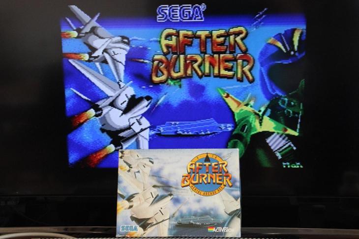 AFTERBURNER hra na ATARI ST/STE - komplet a funkcna - Historické počítače