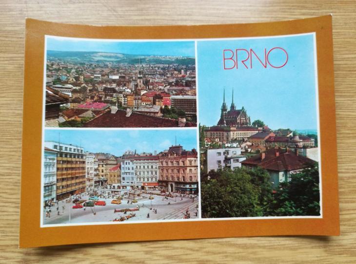 Pohled  Brno - Pohlednice
