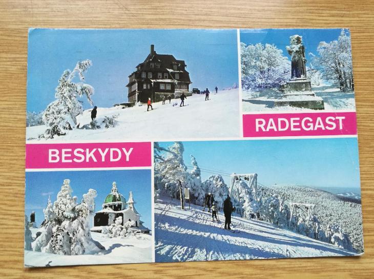 Pohled   Beskydy - Pohlednice