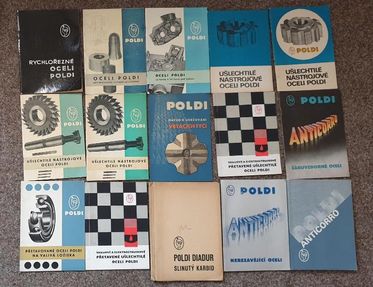 POLDI KLADNO 45x - Knihy