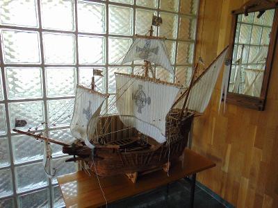 POUZE OSOBNÍ ODBĚR model lodi Santa Maria
