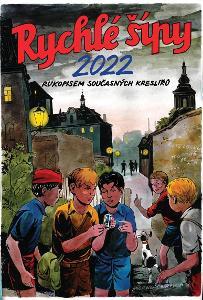 KALENDÁŘ RYCHLÉ ŠÍPY 2022 - RUKOPISEM SOUČASNÝCH KRESLÍŘŮ