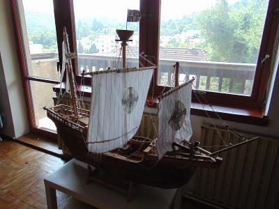 POUZE OSOBNÍ ODBĚR model lodi Pinta