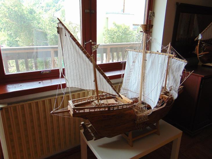 POUZE OSOBNÍ ODBĚR model lodi Pinta - Modelářství