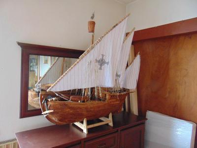 POUZE OSOBNÍ ODBĚR model lodi Nina