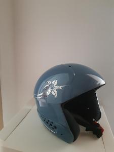 lyžařská helma pro juniory Salomon CHOOPA JR Orage