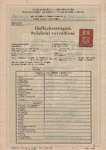 Školní vysvědčení_Havlíčkův Brod_Zadina Ladislav_Trebišov_524