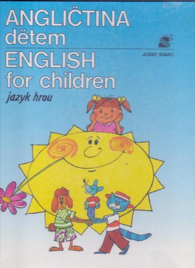 ANGLIČTINA DĚTEM - jazyk hrou - výuka angličtiny - Učebnice