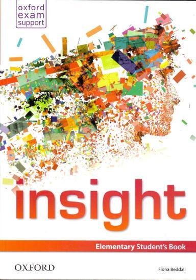 INSIGHT- výuka angličtiny # student´s book  - Učebnice