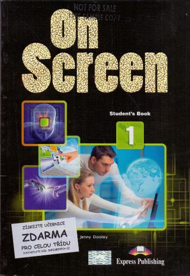 ON SCREEN- výuka angličtiny # student´s book  - Učebnice