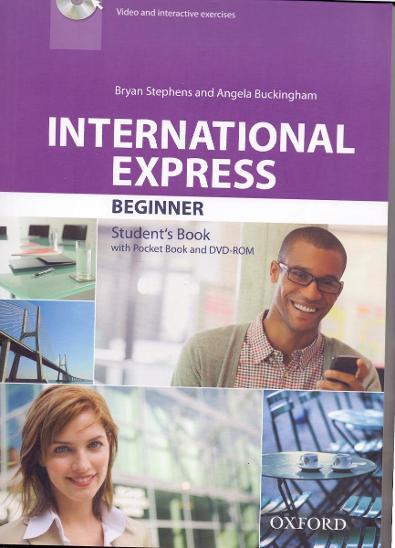 INTERNATIONAL EXPRESS FOR BEGINNER - výuka angličtiny #student´s book  - Učebnice