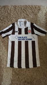 Dres fotbalového klubu FC St.Pauli (Německo) s podpisem Jan Kocián