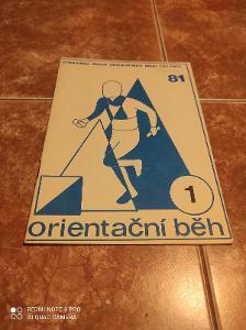 Orientační běh 1981/1 zpravodaj