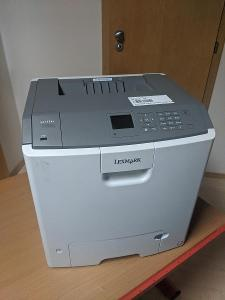 Plně funkční laserová tiskárna Lexmark C746dn, všechny tonery,viz foto