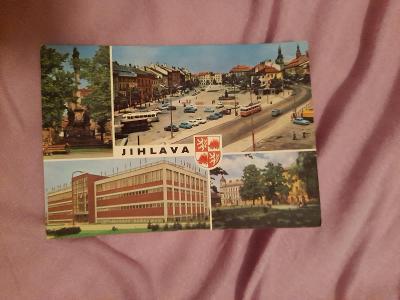 Pohlednice JIHLAVA,prošlé poštou