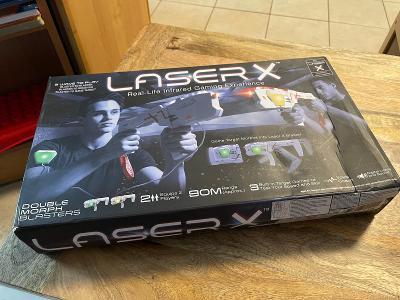 Laser X herní sada pro dva hráče