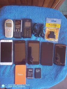 KONVOLUT mobilních telefonů
