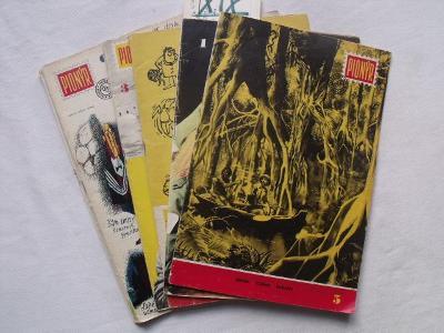 Konvolut 7 ročníků časopisu PIONÝR 1966 - 1973 (50 čísel, Z. Burian)