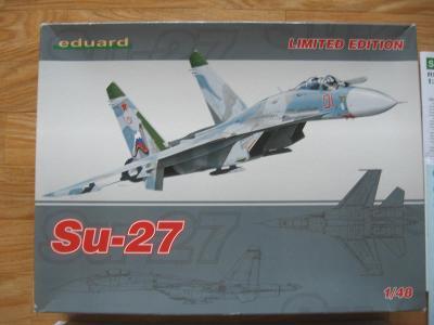 EDUARD Suchoj Su-27 ´Flanker B´ 1:48 ´Limited Edition´ + EXTRAS