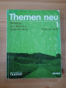 Themen neu 1 Pracovní sešit Němčina pro střední a jazykové školy