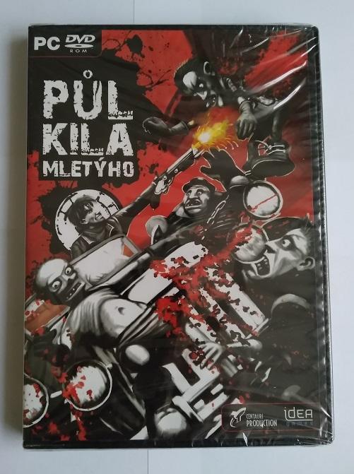 PC hra - Půl kila mletýho - CZ / Nová, Nerozbaleno - Hry