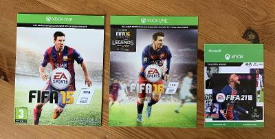 FIFA 15 + FIFA 16 + FIFA 21 na XBOX ONE, digitál