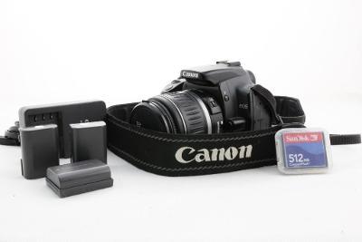 Zrcadlovka Canon 400D + 18-55mm poško. objektiv