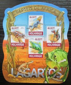 Mosambik 2015 Ještěrky Mi# 7894-97 Kat 10€ 2422