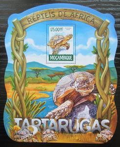 Mosambik 2015 Želvy Mi# Block 1017 Kat 10€ 2422