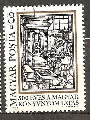 Madarsko 1973 500 rokov knihtlače