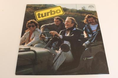 Turbo - Turbo -top stav- ČSSR 1984 LP