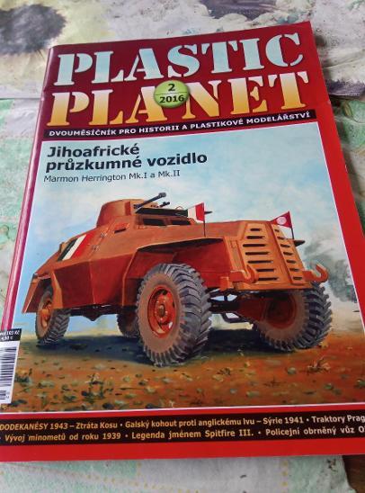 Plastic planet 2/2016. Modelářský časopis.  - Modelářství