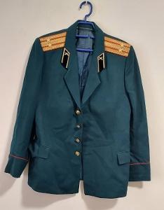 Uniforma. Armáda. Kabát. Důstojník.  SSSR. Rusko. aa1