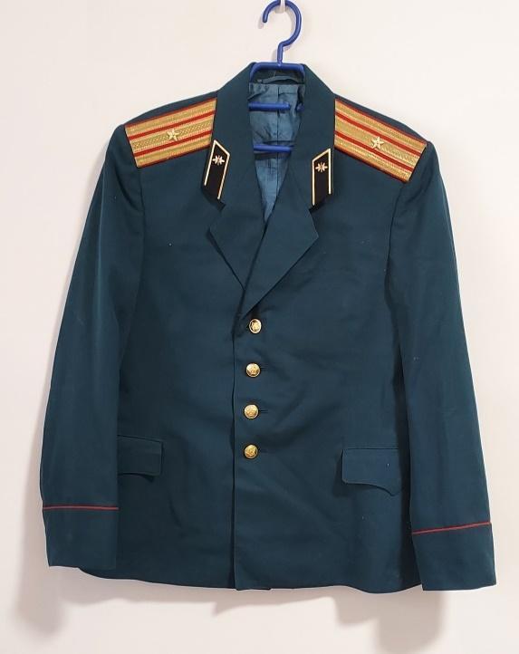 Uniforma. Armáda. Kabát. Důstojník.  SSSR. Rusko. aa4 - Vojenské