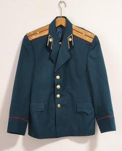Uniforma. Armáda. Kabát. Důstojník.  SSSR. Rusko. aa6