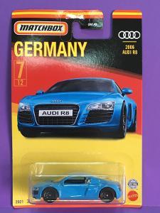 2006 Audi R8  - Matchbox Germany 2021 7/12 (MB2-x)
