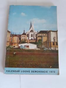 Kalendář lidové demokracie 1972 od 1,-