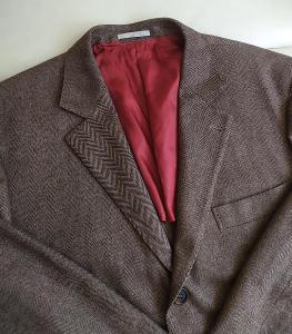 Luxusní pánské sako Brunello Cucinelli Top Stav! Vel XL