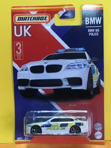 BMW M5 Police - Matchbox UK 2021 3/12 (MB2-x)