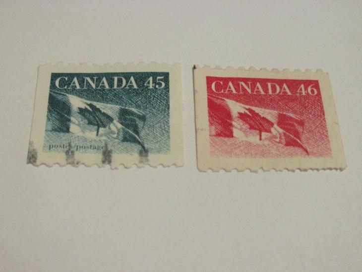 Prodávám známky Kanada 1998, Kanadská vlajka - Filatelie