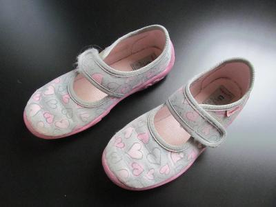 Dívčí domácí obuv Superfit, vel. 27 - v záruční lhůtě do srpna 2022