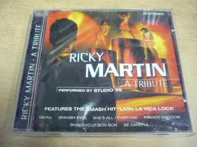 CD RICKY MARTIN a tribute perf. by STUDIO 99