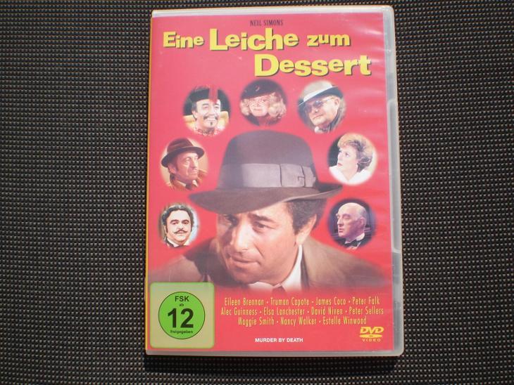 Vražda na večeři, 1976 (DVD), krimikomedie, thriller, stav - jako nové - Film