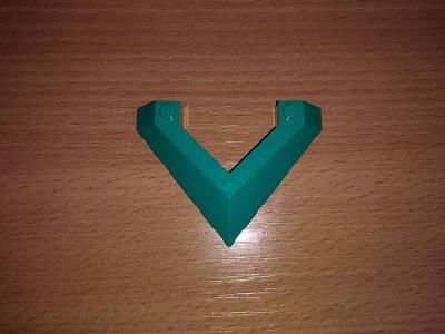 Lego díl 22390 - zelená špice