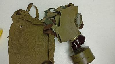 Plynová maska z roku 1968