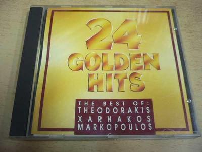 CD 24 GOLDEN HITS / The Best of Theodorakis Xarhakos Markopoulos