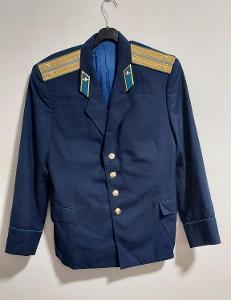 Uniforma. Armáda. Kabát. Důstojník.  SSSR. Rusko. aa25