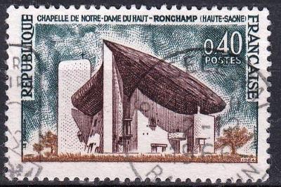 Francie 1965 Mi.1498 razítkovaná, prošla poštou