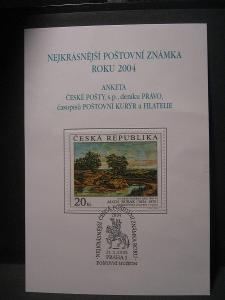ANKETA, AČP známka roku 2004 (ne 100% kvalita)