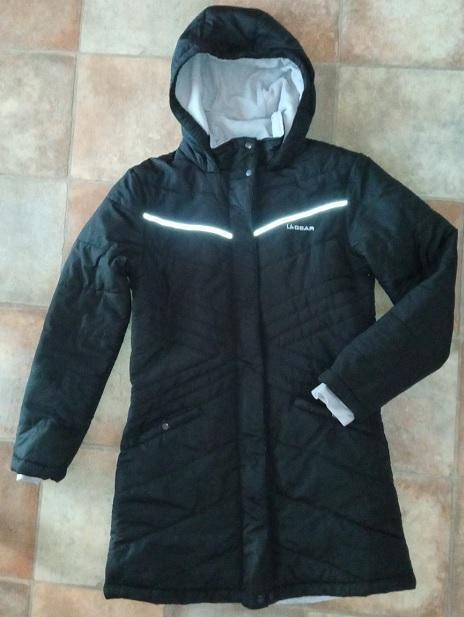 Dámská dlouhá bunda / kabát zn.La Gear vel.36 - Dámské oblečení